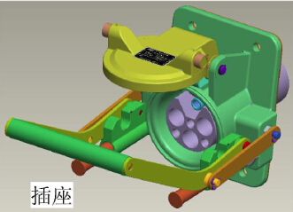 DL7-AC7200/250-TA高压岸电连接器(带10芯控制信号)