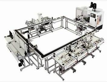 KNT-F1201  FMS柔性加工制造系统